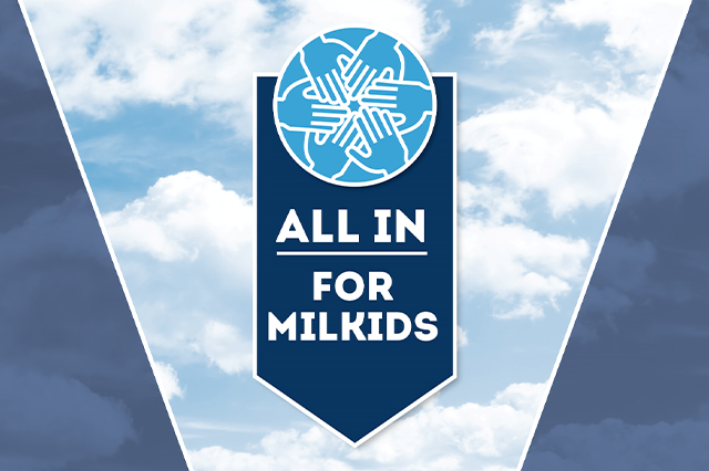 All In for MilKids logo