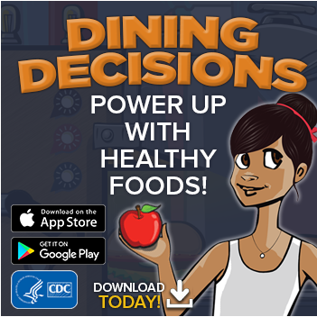 BAM Dining Decisions mobile application promotional image